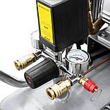 Компресор двоциліндровий ремінною 2.5 кВт 396л/хв 10бар 100л (2 крана) SIGMA (7044151), фото 6
