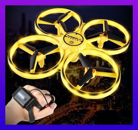 Квадрокоптер Управление с руки Tracker 001 на Браслете Детский дрон, фото 2
