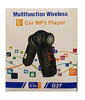 FM модулятор G27 (200) USB с USB интерфейсом и поддержкой MP3