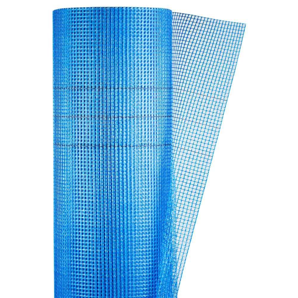 Склосітка штукатурна сітка синя 160г/м2 5×5мм 1×50м SIGMA (8406691)