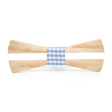 Деревяна краватка метелик з вирізом GBD-422