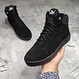 Мужские зимние ботинки Puma OS169 черные, фото 5