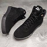 Мужские зимние ботинки Puma OS169 черные, фото 4