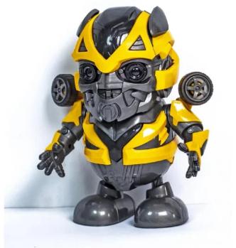 Интерактивная игрушка DANCING ROBOT ЖЕЛТЫЙ