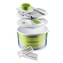 Овощерезка для картофеля и лука, Salad Spinner mandoline slicer 4 in 1, Кухонный прибор Измельчитель