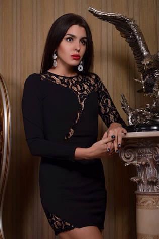 Короткое платье с длинным рукавом, фото 2