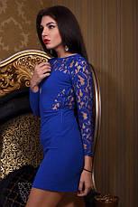 Короткое платье с длинным рукавом, фото 3