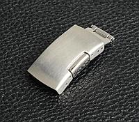 Застежка раскладывающаяся, замок из нержавеющей стали для часового браслета. 18 мм, фото 1
