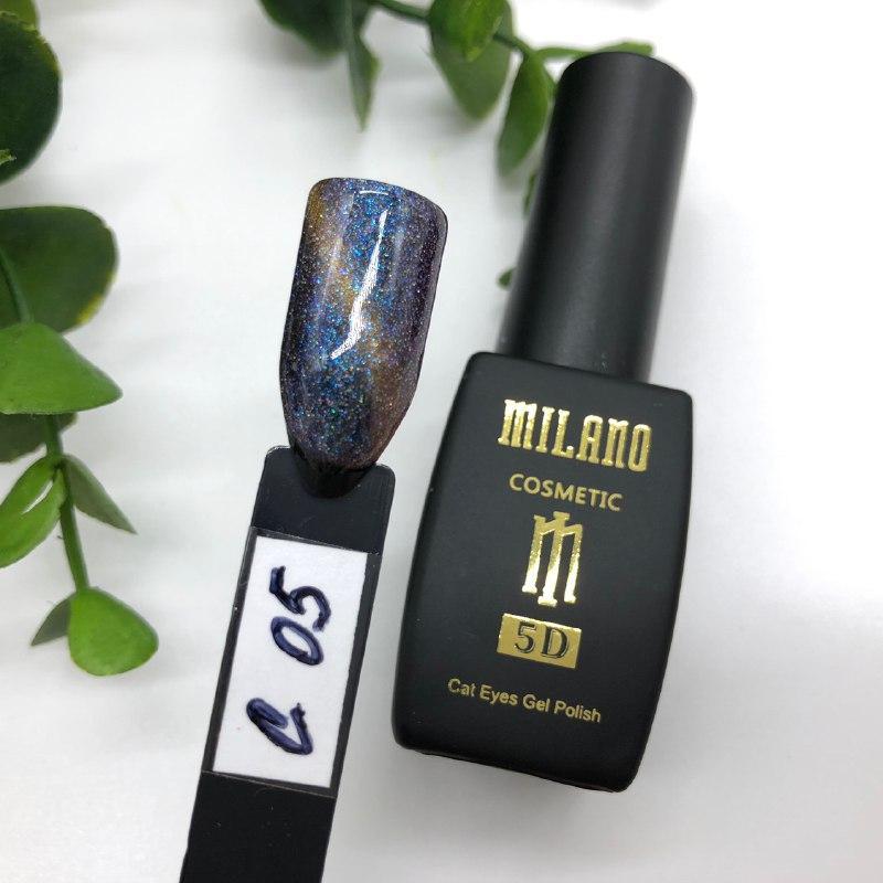 Гель лак Milano Cat Eyes 5D №05C, 8 мл