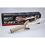 Утюжок выпрямитель плойка для укладки волос гофре 4 в 1 Gemei GM-2962, фото 3