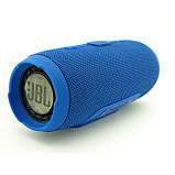 Портативная bluetooth колонка спикер JBL Charge 3 Синий, фото 4