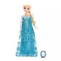 Кукла Elsa Classic Doll with Pendant - Frozen, Disney 2020 (Классическая кукла Эльза с кулоном, Дисней 2020)