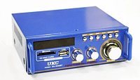 Компактный усилитель звука   Аудио усилители   Усилитель мощности звука AMP SN 555 BT