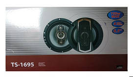 Автомобильная акустика колонки TS-1695.Круглые автомобильные динамики.