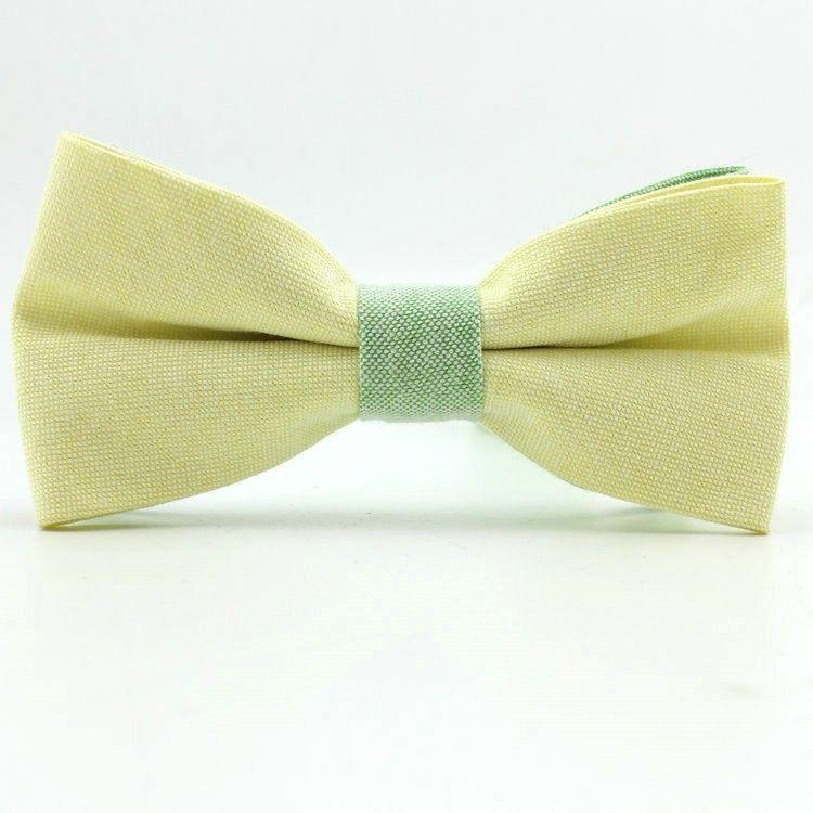 Краватка метелик Жовтий GBF-1007