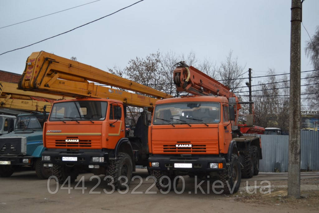 Аренда Автовышки 28 метров - Киев Киевская область