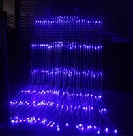 Xmas гирлянда LED (Водопад  3M*1.5M) 320-B-2 Синий