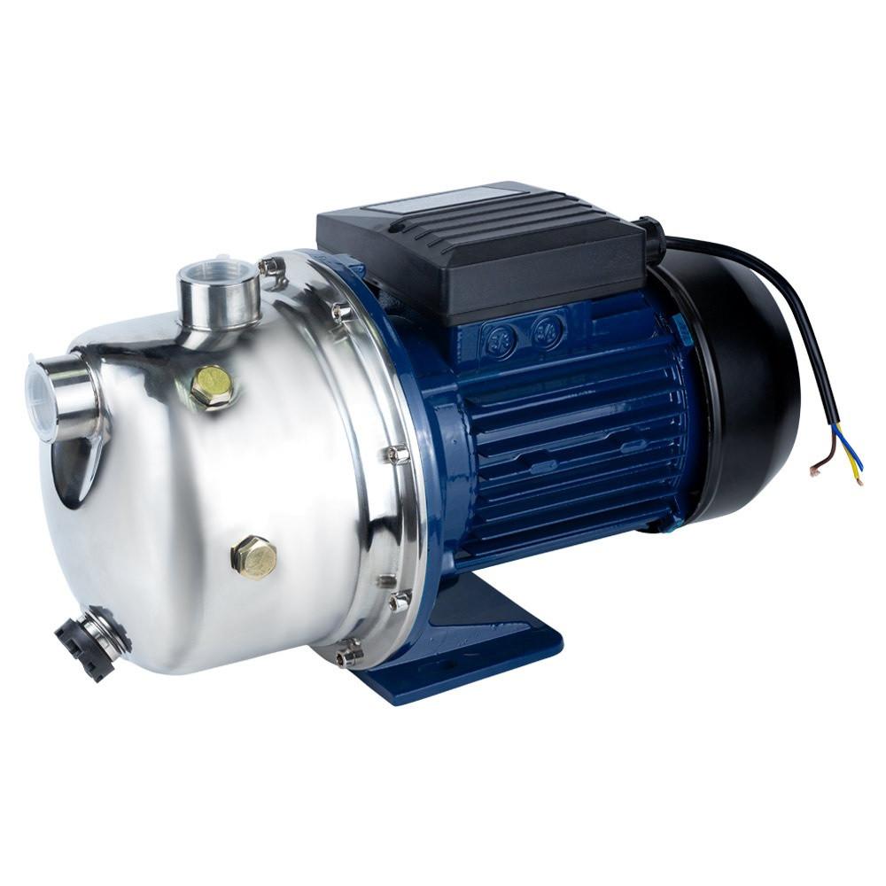 Насос центробежный самовсасывающий 0.75кВт Hmax 46м Qmax 50л/мин нерж WETRON (775052)