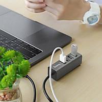 Високошвидкісний USB Хаб Hoco HB1 на 4 порти концентратора, Hub, фото 1