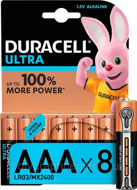Батарейка Duracell Ultra Power AAA LR03 (5005821)
