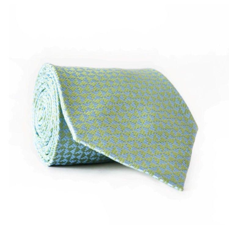 Краватка чоловіча м'ятно-блакитна GIN-2025