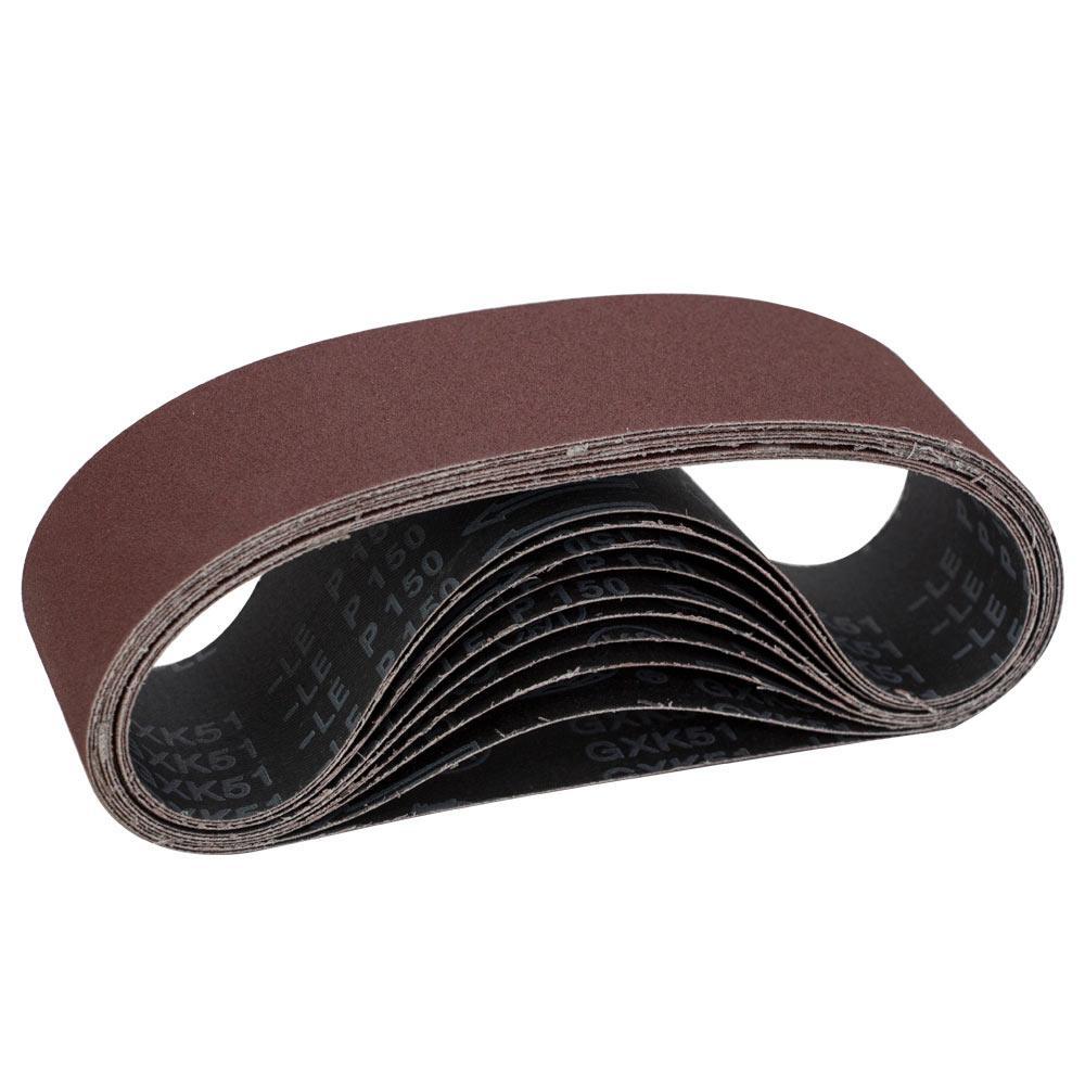 Лента шлифовальная бесконечная 10шт 75×533 зерно 150 SIGMA (9152151)