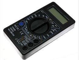 Цифровой мультиметр DT 830B для измерения напряжения,тока,сопротивлениям,емкости, проверки диодов,транзисторов