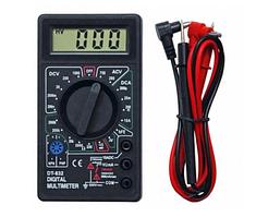 Мультиметр (тестер) Digital DT-832 со звуковой прозвонкой измерения величины напряжения