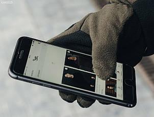 Перчатки Staff fleece black and haki size M-L, фото 2