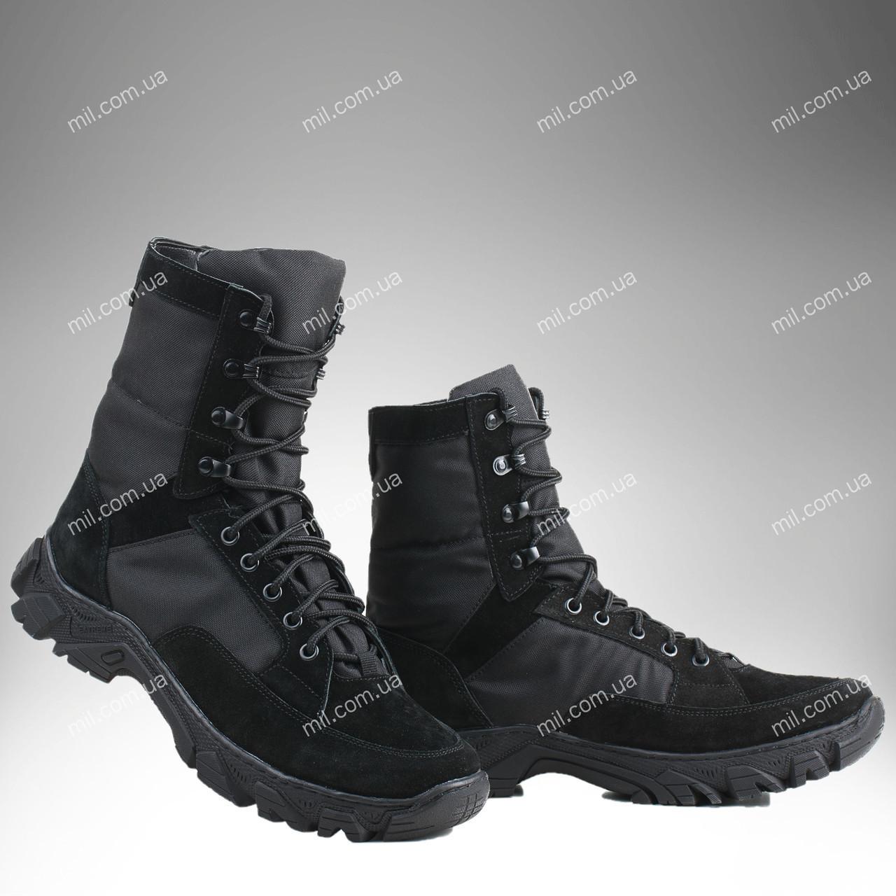 ⭐⭐Берцы демисезонные / военная, армейская обувь ВАРЯГ Gen.II (черный)