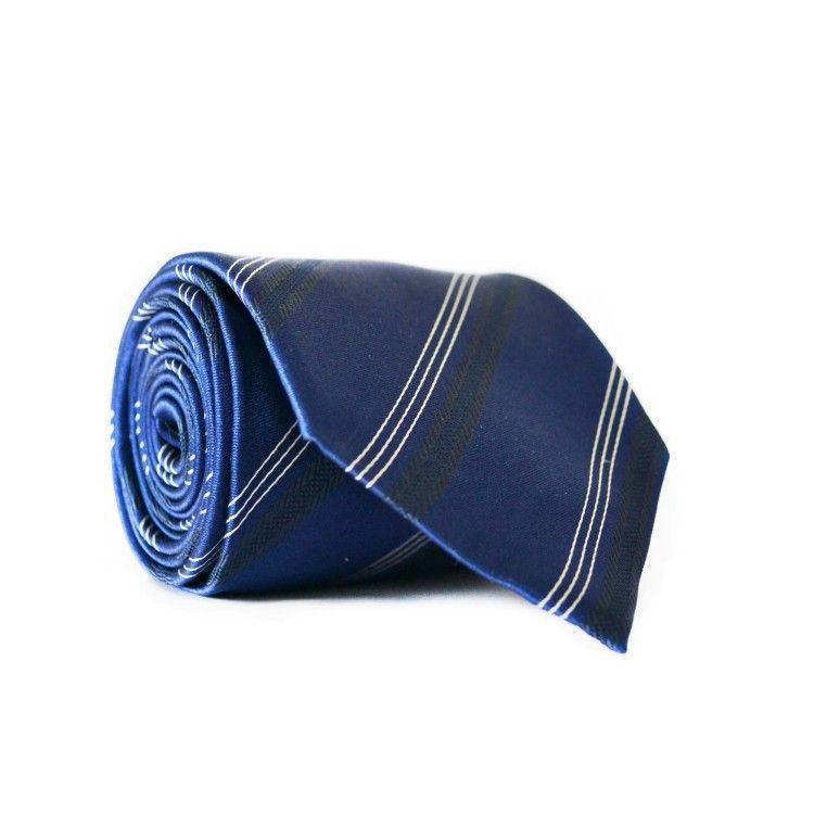 Галстук чоловічий Синій GIN-2094