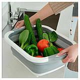 Складная разделочная доска для мытья и резки овощей, фото 8