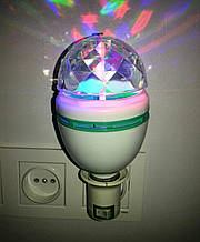 Светодиодная вращающаяся диско лампа LY-399 (LED)