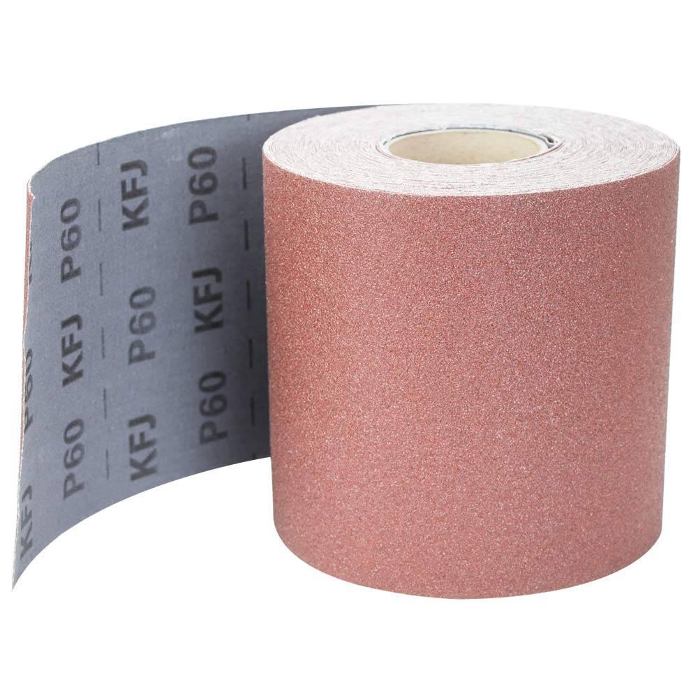 Шліфувальна шкурка тканинна рулон 200мм×30м Р60 SIGMA (9112441)