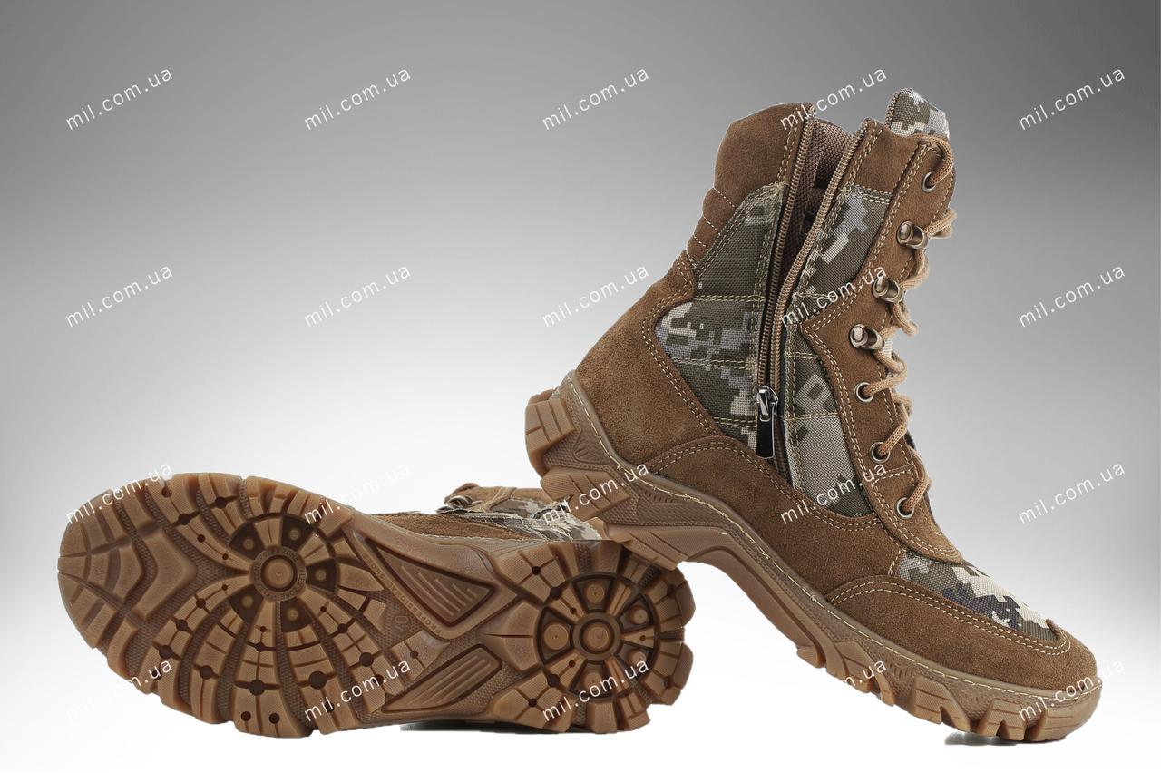 ⭐⭐Берцы демисезонные / военная, тактическая обувь АЛЬФА ММ14 (пиксель) | берцы, берці, берци, военная обувь,