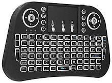 Беспроводная мини клавиатура с тачпадом, MINI KEYBOARD, для телевизора TV, компьютера, Блютуз клавиатура