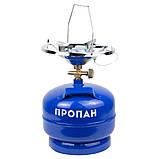 Комплект газовый кемпинг с пьезоподжигом Comfort 5л SIGMA (2903111), фото 2