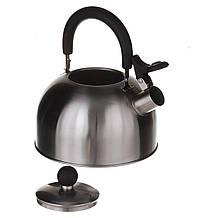 Чайник газовый со свистком из нержавеющей стали 2,5 л A Plus 1321