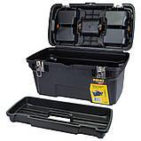 Ящик для инструмента (металлические замки) 582×310×234мм SIGMA (7403681), фото 4