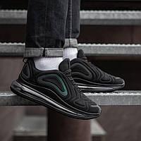 Кроссовки в стиле Nike Air Max 720 черные