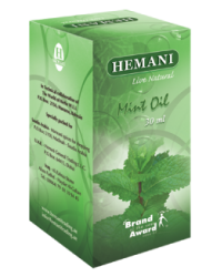 100% Натуральное масло мяты Hemani 30 мл