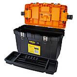 Ящик для інструменту (металеві замки) 564×310×388мм SIGMA (7403561), фото 4