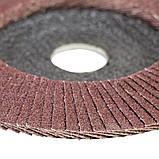 Круг лепестковый торцевой Т29 (конический) Ø125мм P80 SIGMA (9172641), фото 4