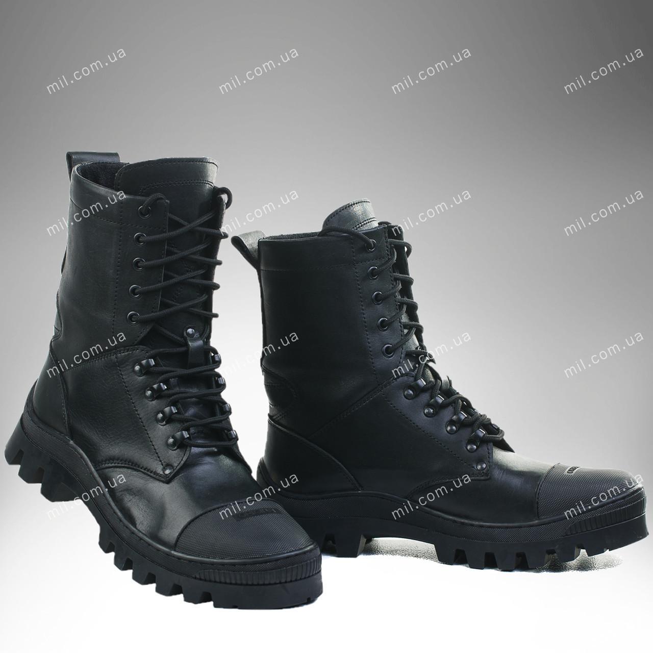 Берцы демисезонные / военная, армейская обувь БАСТИОН I (black)