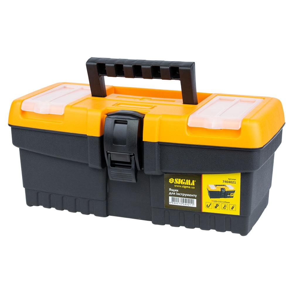 Ящик для инструмента 320×155×139мм SIGMA (7404021)
