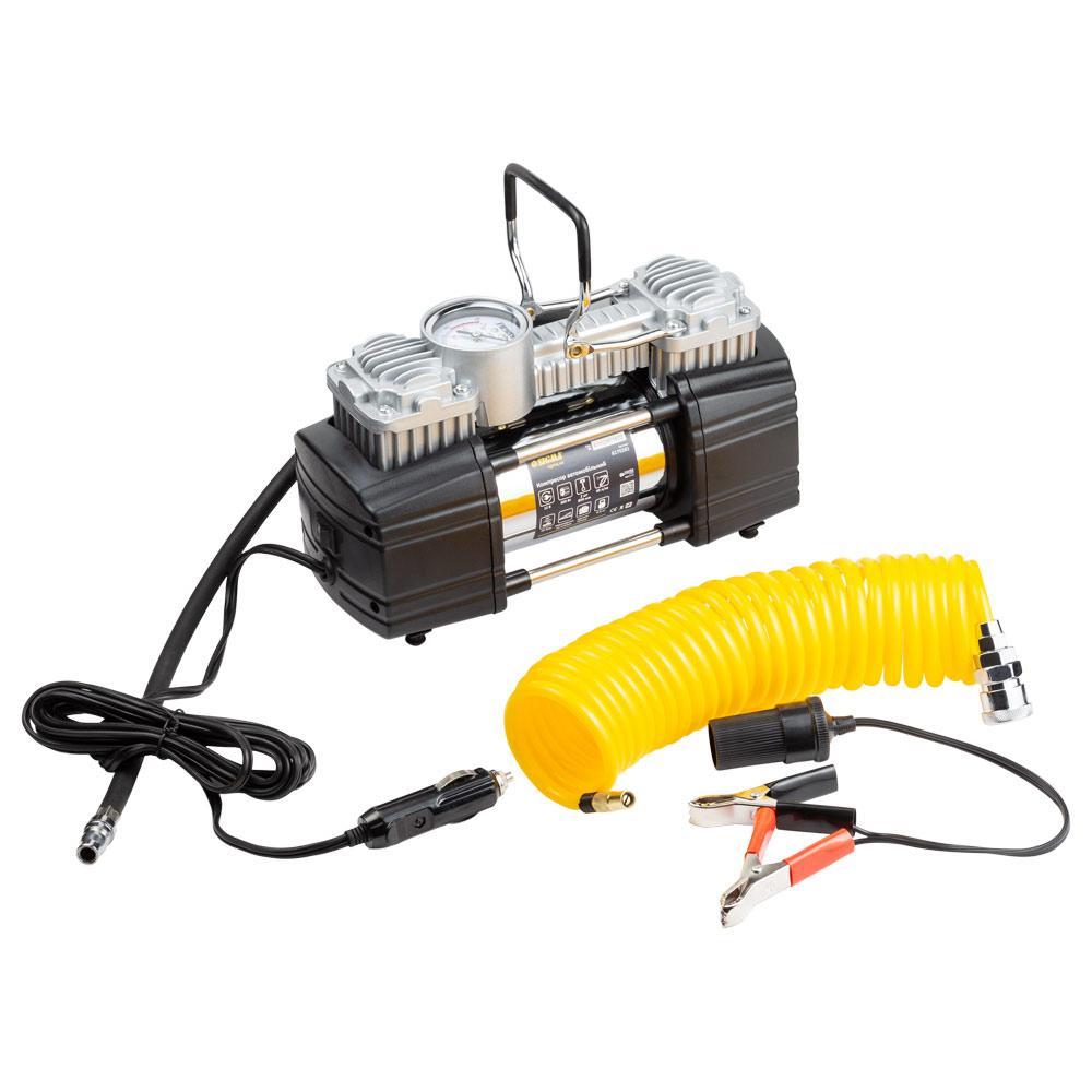 Компрессор автомобильный 12В, 300Вт, 60л/мин, 10бар SIGMA (6170281)