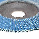 Круг лепестковый торцевой Т29 (конический) ZA Ø125мм P100 SIGMA (9173551), фото 4