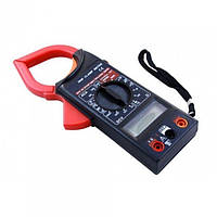 Мультиметр цифровой мультитестер DT 266F тестер вольтметр Токовые клещи