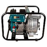 Мотопомпа 6.5л.с. Hmax 29м Qmax 60м³/ч (4-х тактный) для грязной воды LEO (772517), фото 2