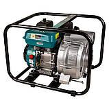 Мотопомпа 6.5л.с. Hmax 29м Qmax 60м³/ч (4-х тактный) для грязной воды LEO (772517), фото 3